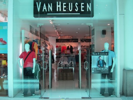 Van Heusen, Ayala Center Cebu