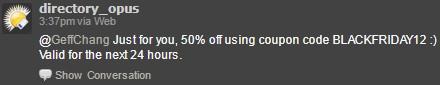 Directory Opus discount code