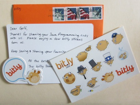 bitly stickers