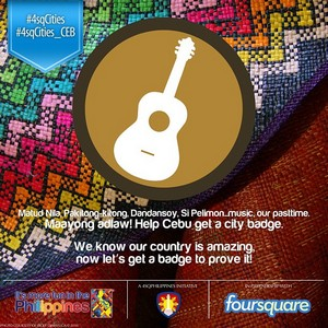 foursquare city badge cebu