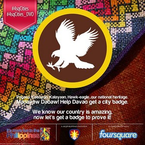 foursquare city badge davao