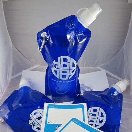 4sqDay 2013 water bottle